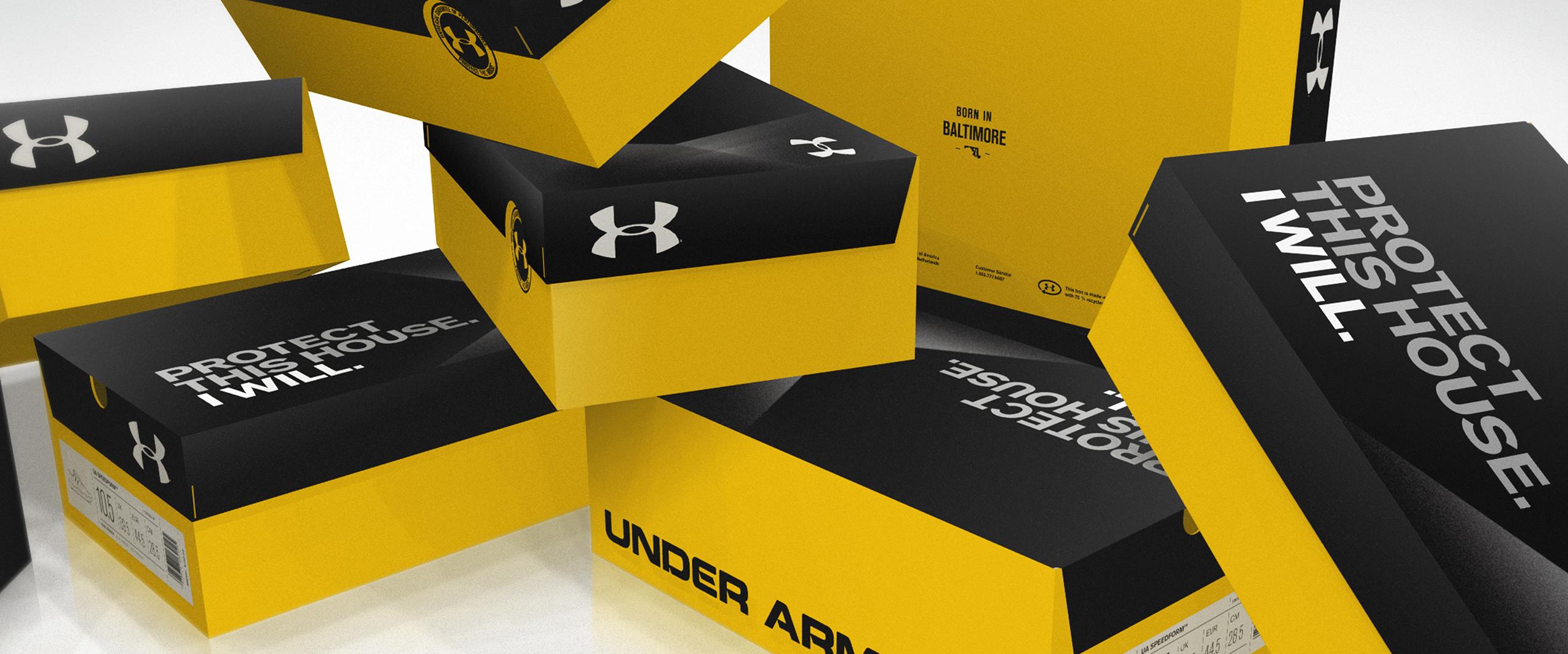 UA Footwear Box